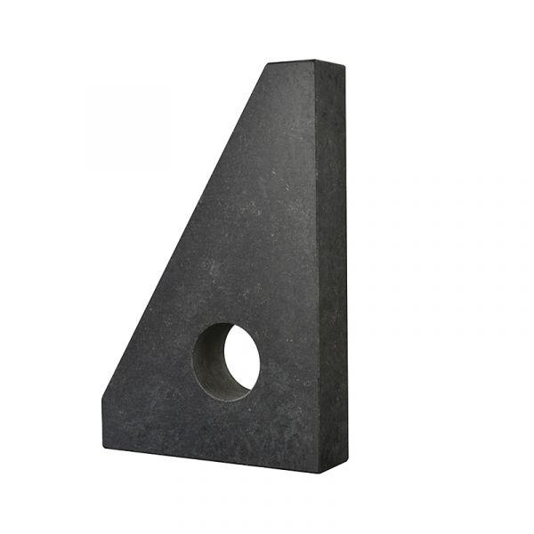 Угольник из твердокаменных пород УШТК 1000х630х80 кл.0