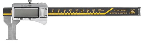 Штангенциркуль спец. ШЦЦСК-1 50-350-0.01 губ.90мм для изм внут. канавок и пазов (Поверка)