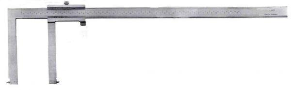 Штангенциркуль спец. ШЦСК-4 60-650-0.02 губ.150мм для изм внут. канавок и пазов (Поверка)