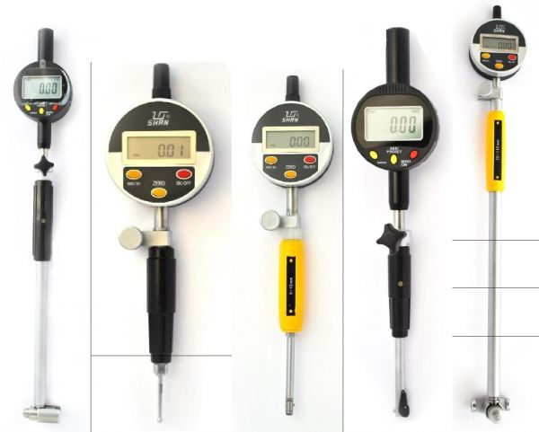 Нутромер индикаторный цифровой НИЦ-ПТ-160-250мм 0.001 (Поверка)
