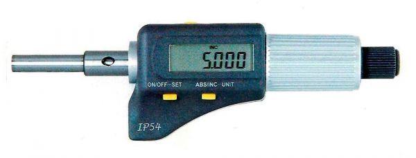 Микрометрическая головка цифровая МГЦ-0-25мм 0.001 (Поверка)