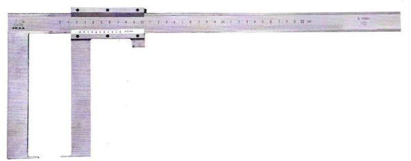 Штангенциркуль спец. ШЦСК-5 0-500-0.02 губ.70мм для изм наружных канавок и пазов (Поверка)