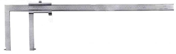 Штангенциркуль спец. ШЦСК-4 50-550-0.02 губ.150мм для изм внут. канавок и пазов (Поверка)