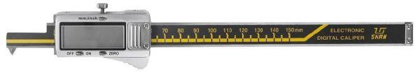 Штангенциркуль спец. ШЦЦСМ 3-150-0.01 губ.5мм с малыми измерительными губками для изм внут. размеров (Поверка)