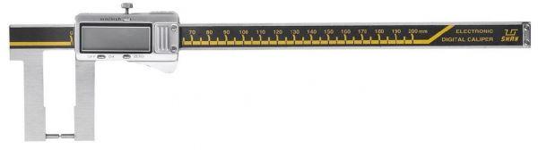 Штангенциркуль спец. ШЦЦСК-6 0-200-0.01 губ.50мм с цилиндрическими губ. для изм наружных канавок и пазов (Поверка)