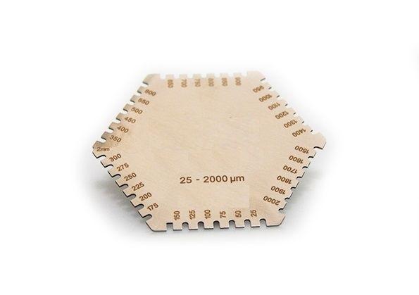 Гребенка для измерения толщины мокрого слоя ЛКП-3236/2 25мкм-2000мкм (КСИЗ)