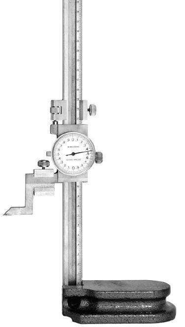 Штангенрейсмасс с круговой шкалой ШРК-250мм 0.01 (Поверка)
